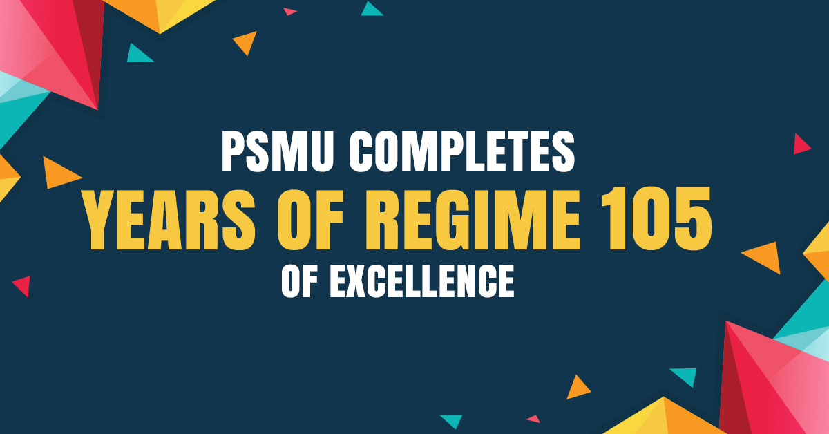 PSMU in News For Its Celebration Of 105 Years